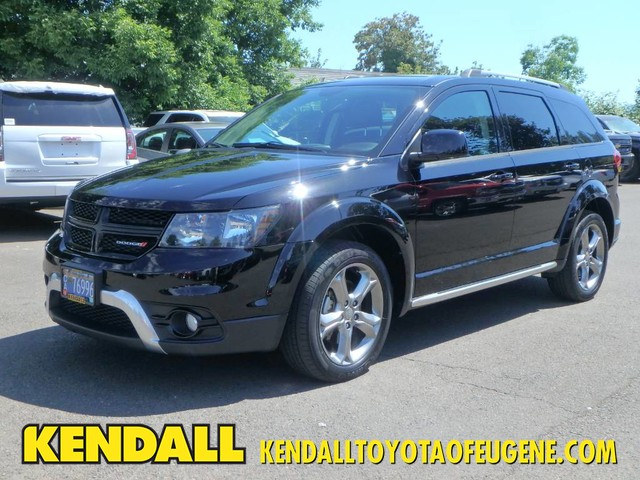 Dodge Suv 2016 >> Pre Owned 2016 Dodge Journey Crossroad Plus Front Wheel Drive Suv