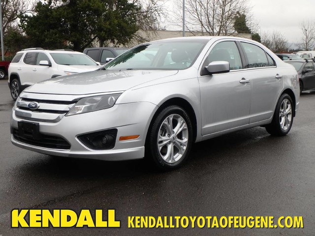 2012 Ford Fusion For Sale >> Pre Owned 2012 Ford Fusion Se Sedan In Eugene Tzf4161 Kendall