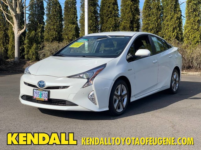 Certified Pre-Owned 2018 Toyota Prius Three Touring