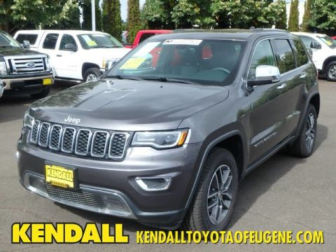 Pre-Owned 2017 Jeep Grand Cherokee Limited Four Wheel Drive SUV