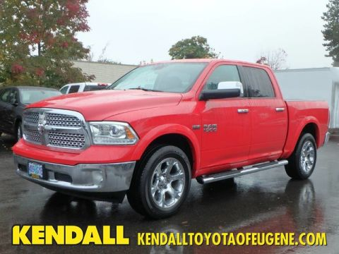 Pre-Owned 2013 Ram 1500 Laramie Four Wheel Drive Pickup Truck