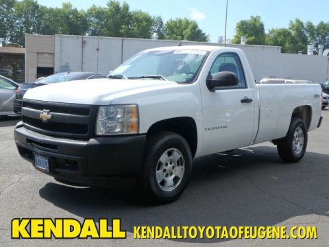 Pre-Owned 2009 Chevrolet Silverado 1500 Work Truck Four Wheel Drive Pickup Truck
