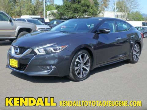 Pre-Owned 2017 Nissan Maxima Platinum Front Wheel Drive Sedan
