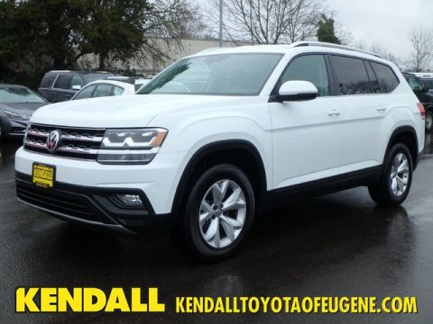 Pre-Owned 2018 Volkswagen Atlas 3.6L V6 SE w/Technology AWD
