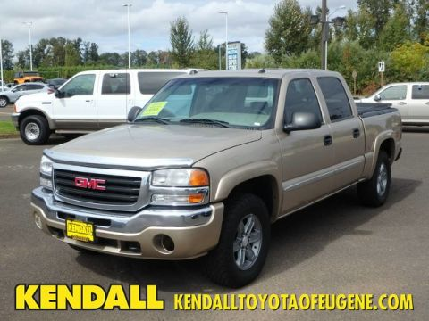 Pre-Owned 2005 GMC Sierra 1500 SLT Four Wheel Drive Pickup Truck