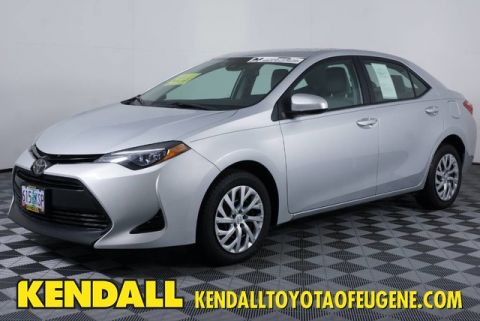 Pre-Owned 2018 Toyota Corolla LE Front Wheel Drive Sedan