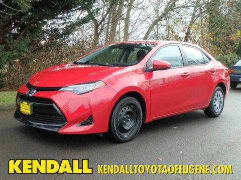 Pre-Owned 2017 Toyota Corolla LE Front Wheel Drive Sedan