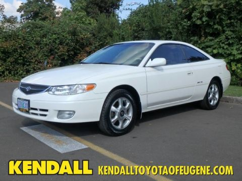Pre-Owned 2001 Toyota Camry Solara SE Front Wheel Drive Coupe