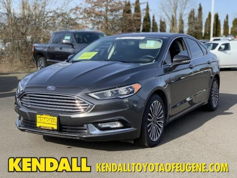 Certified Pre-Owned 2017 Ford Fusion SE