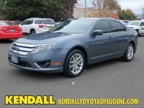 Pre-Owned 2012 Ford Fusion SEL Front Wheel Drive Sedan
