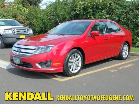 Pre-Owned 2010 Ford Fusion SEL Front Wheel Drive Sedan