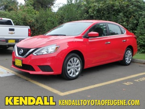 Pre-Owned 2017 Nissan Sentra SV Front Wheel Drive Sedan