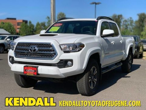 Certified Pre-Owned 2016 Toyota Tacoma TRD Sport Four Wheel Drive Pickup Truck
