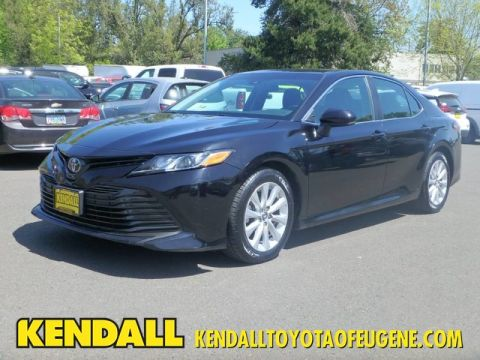 Certified Pre-Owned 2018 Toyota Camry LE Front Wheel Drive Sedan