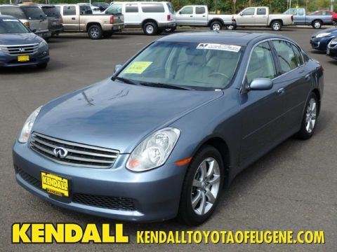 Pre-Owned 2006 INFINITI G35 Sedan Rear Wheel Drive Sedan