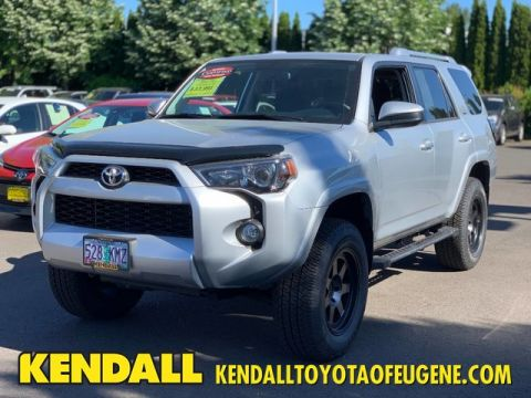 Certified Pre-Owned 2018 Toyota 4Runner SR5 Four Wheel Drive SUV